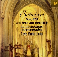 Schubert Mass D 950