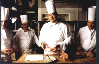 Guy Legay, chef at the Ritz in Paris
