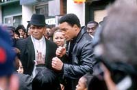 Mario Van Peebles as Malcolm X and Will Smith as Muhammad Ali