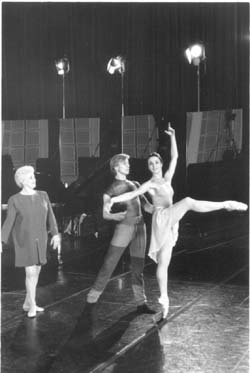 Violette Verdy, Victor Malakhov and Margaret Illmann
