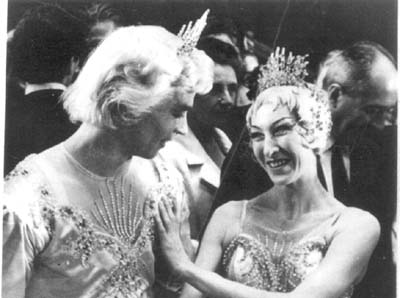 Nureyev with Nina Vyroubova