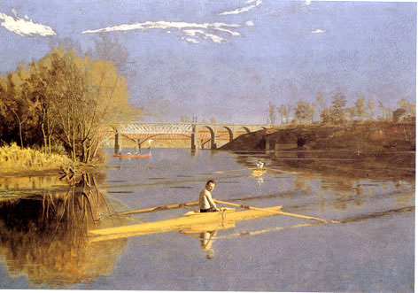 Thomas Eakins: The Champion Single Scull
