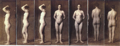 Thomas Eakins: Naked Series: Female model