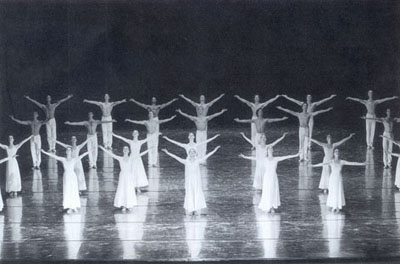 Ballet of Leipzig  in Uwe Scholz'  La Grande Messe