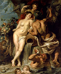 Peter Paul Rubens, The Union of Earth and Water, ca. 1618 • Oil on canvas, 87 1/2 x 71 inches • State Hermitage Museum, St. Petersburg • Photo courtesy of Guggenheim Museum, Bilbao