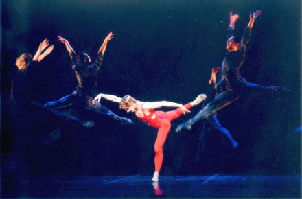 Karl Paquette in Firebird at the Paris Opera Ballet