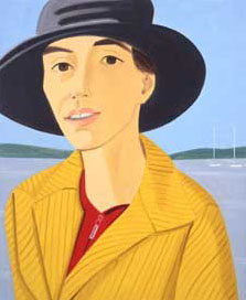 Alex Katz: Vivien 2003 • Photo courtesy of Fondazione Bevilacqua La Masa