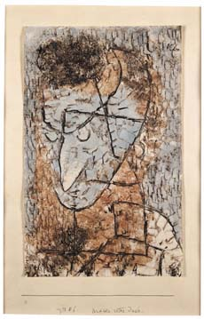 Paul Klee: Mask Red Jew, 1933