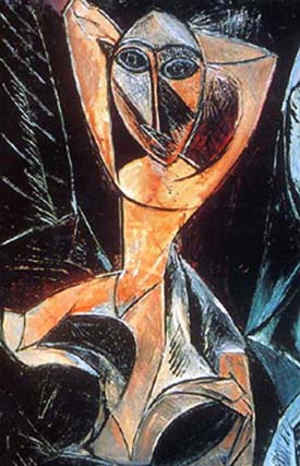 Pablo Picasso: Nude with Raised Arms