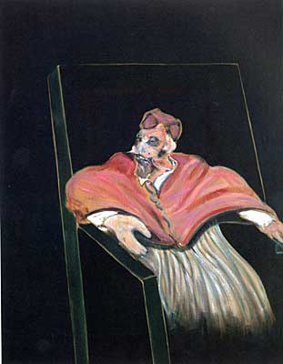 Francis Bacon: <EM>Study for Pope III</EM>, 1961Private Collection –Courtesy Massimo Martino Fine Arts & Projects, Mendrisio ©The Estate of Francis Bacon / VEGAP, Valencia 2003