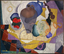 Diego Rivera • No. 9, Nature Morte Espagnole, 1915 • oil on canvas • Gift of Katharine Graham • National Gallery of Art, Washington • Photo courtesy of National Gallery of Art