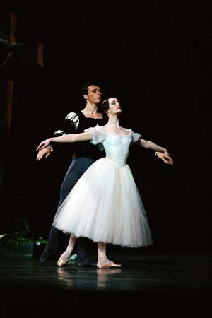 Aur�lie Dupont and Nicolas Le Riche in Giselle