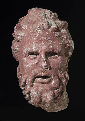 Head of a Satyr • The Miller Collection of Roman Sculpture • Photo courtesy of The Minneapolis Institute of Arts