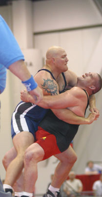 Photo courtesy of Rulon Gardner • 2000 Olympic Greco Roman Wrestling Champion •