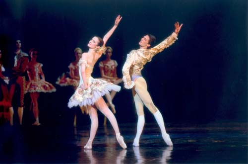 Agn�s Letestu and Mathieu Ganio in Don Quixote