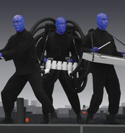 Photo courtesy of Blue Man Group