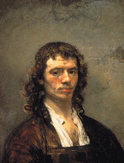 Carel Fabritius: Self-portrait • Photo courtesy of Mauritshuis