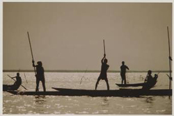 Irving Penn: Dahomey/Seascape I, 1967 • © 2003 by Irving Penn • Courtesy Vogue • Photo courtesy of Museum of Fine Arts, Houston