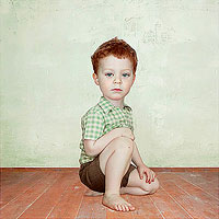 Loretta Lux: Study of a Boy 2</i>, 2002 • Restricted gift of David C. and Sarajean Ruttenberg. Copyright Loretta Lux courtesy of the artist and Yossi Milo Gallery • Photo courtesy of The Art Institute of Chicago