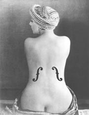 Man Ray: Le Violon d' Ingres, 1924 • © Man Ray • NNAC/MNAM Dist RMN  •  • Photo courtesy of Moderna Museet