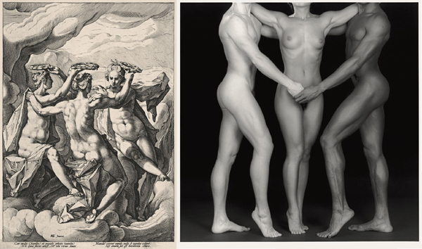 Mapplethorpe: Ken, Lydia, Tyler - 1985; Goltzius, Graces