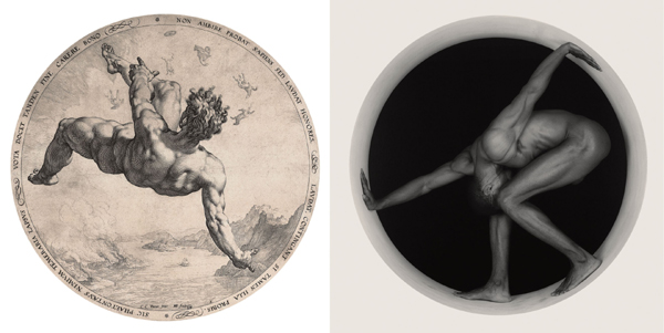 Mapplethorpe: Thomas, 1987 - Goltzius, Phaeton, Four Disgracers