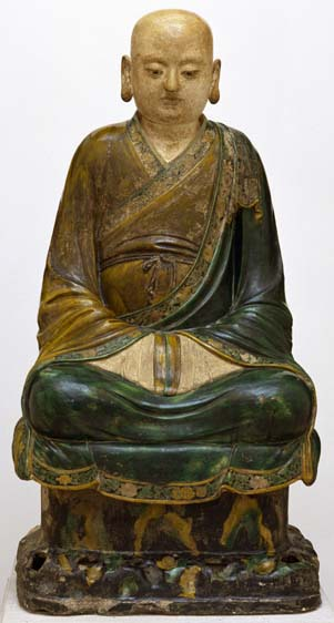 Seated Buddhist Luohan