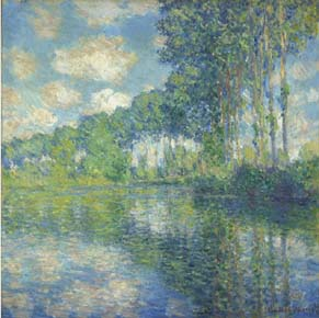 <P>Claude Monet , Poplars on the Epte, 1891Photo courtesy of National Gallery of Scotland</P>