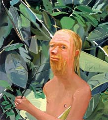 "<P>Dana Schutz<EM>Frank as a Proboscis Monkey</EM>, 2002Oil on canvas32"" x 36""Collection of Ranbir SinghPhoto courtesy of SITE Santa Fe</P>"