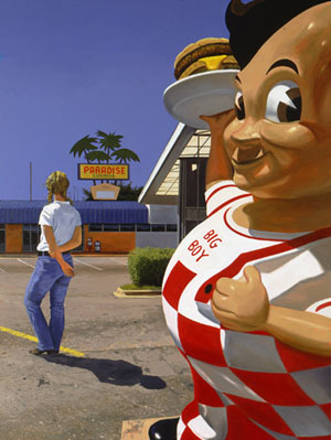 Daniel Blagg: <EM>Big Boy</EM>, 2005oil on canvas80 x 60Photo courtesy of Kidder Smith Gallery