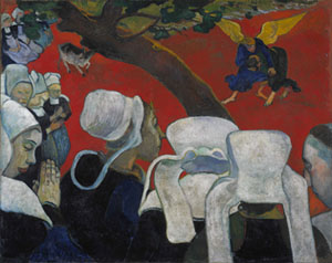 Paul Gauguin: The Vision of the Sermon, 1888Photo courtesy of Royal Scottish Academy