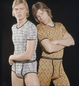 <EM>Unmentionables - Men´s Underwear Culture</EM>Photo courtesy of Tennis Palace  Art Museum