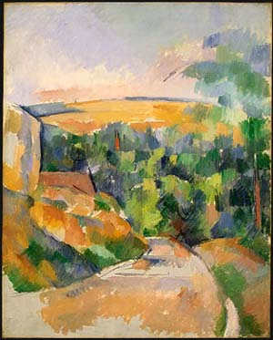 Paul Cézanne<EM>Bend in the Road</EM>, 1900-1906Collection of Mr. and Mrs. Paul Mellon1985.64.8