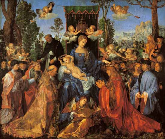 Albrecht D�rer, The Feast of the Rose Garlands