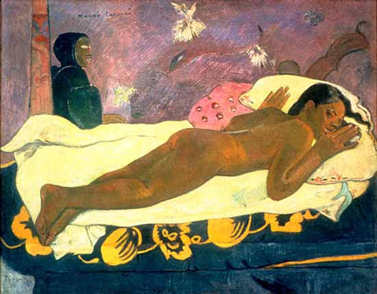 Paul Gauguin: Manao Tupapau Spirit of the Dead Watching, 1892