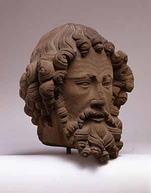 <EM>Head of an Apostle</EM>Upper Rhineland, probably Strasbourg, ca. 1280–1300The Metropolitan Museum of Art, New York; The Cloisters Collection, 2004 Photo courtesy of The Metropolitan Museum of Art