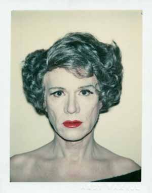 Andy Warhol: <EM>Self-Portrait in Drag</EM>, 1980Collection The Andy Warhol Museum, PittsburghPhoto courtesy of Moderna Museet