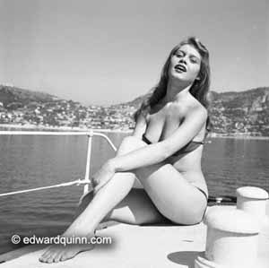 <P>Edward Quinn:Brigitte Bardot on the French RivieraFrom the Edward Quinn Archive, SwitzerlandPhoto courtesy of Michael Hoppen Gallery </P>