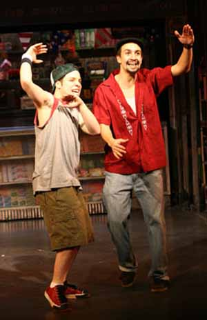 <EM>In the Heights</EM> Robin de Jesus and Lin-Manuel Miranda