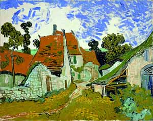 Vincent Van Gogh: <EM>Street in Auvers</EM>, 1890Oil on CanvasAteneum Art MuseumFinnish National Gallery, HelsinkiPhoto courtesy of Thyssen-Bornemisza Museum