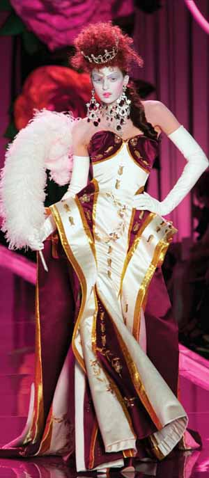 Evening Gown by John Galliano for Christian DiorPhoto courtesy of Victoria and Albert Museum