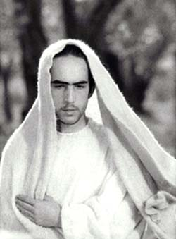 Enrique Irazoqui as Christ in <EM>The Gospel According to St. Matthew / Il Vangelo secondo Matteo</EM>Directed by Pier Paolo Pasolini, Italy/France, 1964; 137mPhoto Credit: ARCO/LUX / THE KOBAL COLLECTION Photo courtesy of Films Society of Lincoln Center