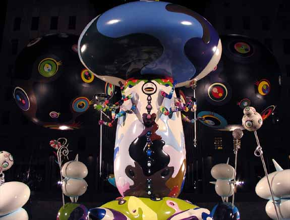 Takashi Murakami: Reversed Double Helix