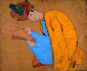 Shah Abu'l Ma'aliSigned by Master Dust, Indiacirca 1656, gouache sur paper Photo courtesy of Musée du Louvre