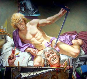 <P>Paul Cadmus: Study <EM>for David and Goliath</EM>Photo courtesy of Colorado Springs Fine Arts Center </P>