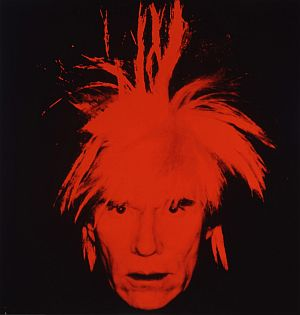 <P>Warhol: Self portrait 1986. Acrylic and silkscreen ink on linen. The Andy Warhol Museum, Pittsburgh Founding Collection. ©Andy Warhol Foundation for Visual Arts / SODRAC (2007)Photo courtesy of The Winnipeg Art Gallery</P>