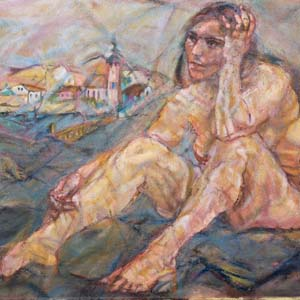 Oskar Kokoschka Photo courtesy of Belvedere, Vienna