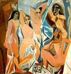<P>Picasso: <EM>Les Demoiselles d'Avignon</EM>, 1907Photo courtesy of RMN</P>