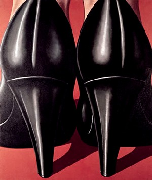 <P>Domenico Gnoli, 1933, Rome – 1970, New York <EM>Lady's feet</EM>, 1969Oil and sand on canvas, 191 x 161 cmVon der Heydt-Museum Wuppertal© 2008 ProLitteris, ZurichPhoto courtesy of Kunsthaus Zurich</P>