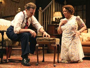 Epatha Merkerson and Kevin Anderson in <EM>Come Back, Little Sheba</EM>